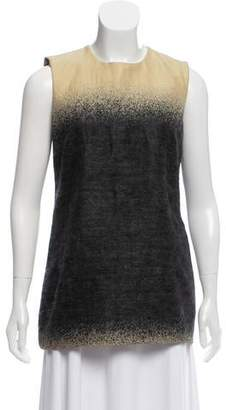 Prada Sleeveless Wool-Blend Top