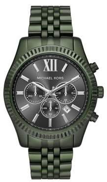 Michael Kors Lexington IP Chronograph Watch