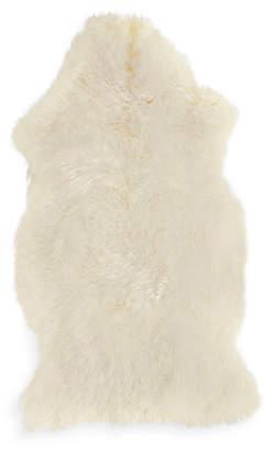 Design Within Reach Sheepskin Throw, Ivory