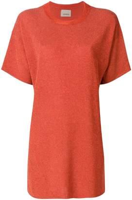 Laneus plain T-shirt dress
