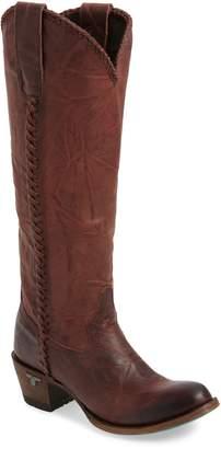 LANE BOOTS Plain Jane Knee High Western Boot