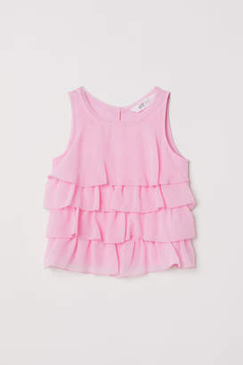 H&M Tiered Top - Pink