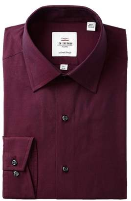 Ben Sherman Tonic Poplin Florentine Tailored Slim Fit Dress Shirt