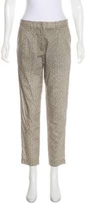 Jenni Kayne Mid-Rise Silk-Blend Pants