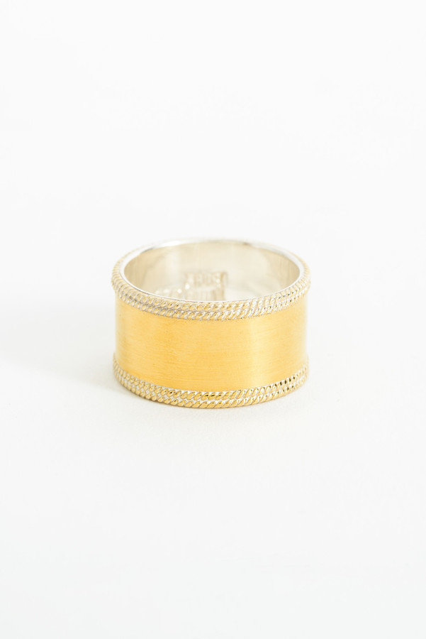 Anna Beck Anna Beck Gold Smooth Band Ring