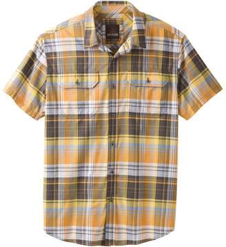 Prana Cayman Plaid Short-Sleeve Shirt - Men's
