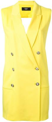 Versus double breasted gilet $635.71 thestylecure.com