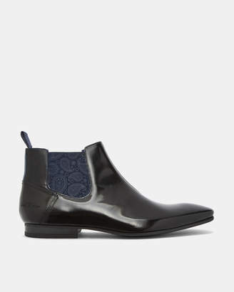Ted Baker LAMETH Glossy leather Chelsea boots