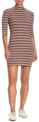 Lumiere Striped Bodycon Dress