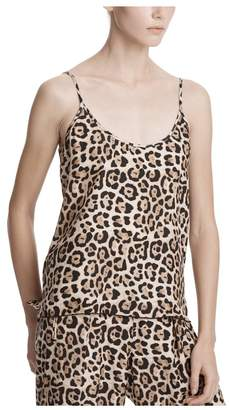 ATM Anthony Thomas Melillo Leopard Silk Charmeuse Cami