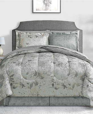 Fairfield Square Collection Patina 6-Pc. Twin Reversible Bedding Ensemble Bedding
