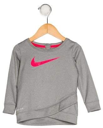 Nike Girls' Logo Sweater