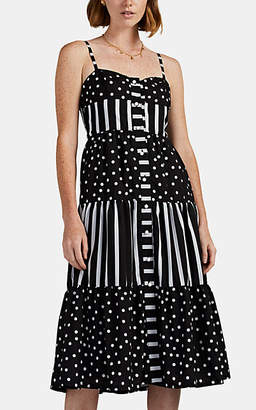 Solid & Striped Women's Polka Dot & Striped Maxi Dress
