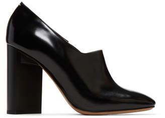 Maison Margiela Black Leather Heels