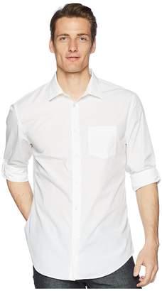 John Varvatos Collection Slim Fit Sport Shirt W433P3 Men's Short Sleeve Button Up
