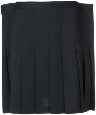 Junya Watanabe short pleated skirt