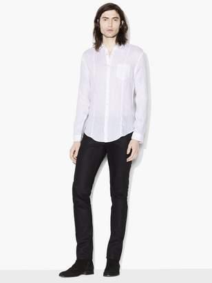 John Varvatos Slim Fit Linen Button-Up Shirt