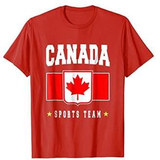 Canada T-shirt Canadian Flag Soccer Football Fan Jersey