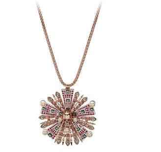 Betsey Johnson Sunray Pendant Necklace - Women's