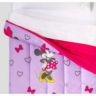 5809dc914ac Mickey Mouse & Friends Minnie Mouse Comforter Purple