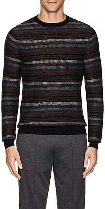Ermenegildo Zegna Men's Striped Cashmere Sweater