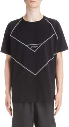 Givenchy Chevron Stitch T-Shirt