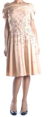 Prada Women's Beige Viscose Dress.