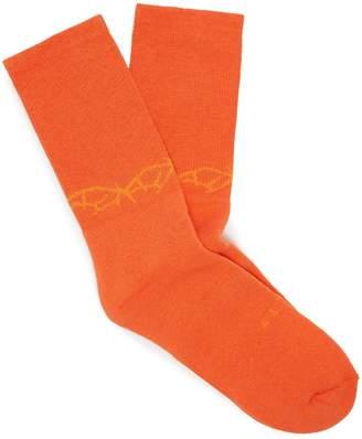 1017 ALYX 9SM Thorn ribbed cotton-blend socks