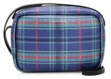 Balenciaga Everyday Plaid Leather Camera Bag