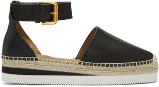 See by Chloé Black Glyn Espadrilles $195 thestylecure.com