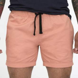 Blade + Blue The 'Paradise' Cotton Stretch Twill Short in Pink