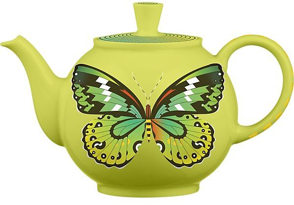 Crate & Barrel March Teapot by Bee Things