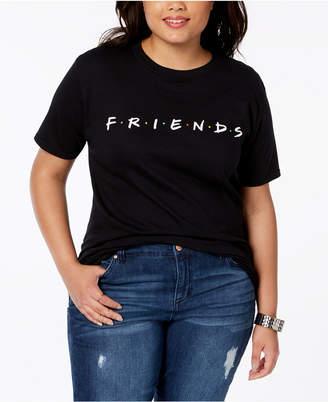 Hybrid Plus Size Cotton Friends T-Shirt