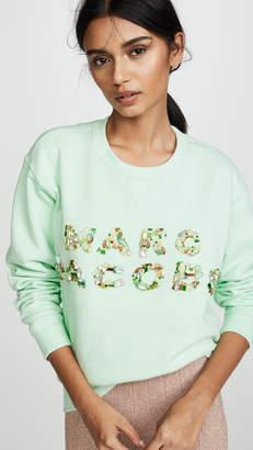 Marc Jacobs Luxe Embellished Sweatshirt