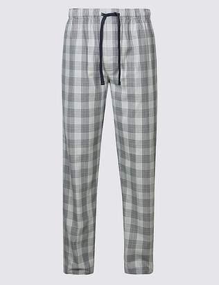 Marks and Spencer Supima® Cotton Slim Fit Pyjama Bottoms