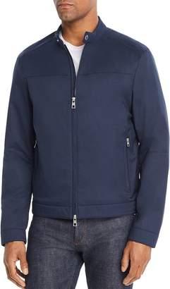 Michael Kors Zip-Front Racer Jacket