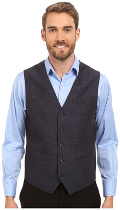 Perry Ellis Linen Cotton End on End Suit Vest $59.99 thestylecure.com