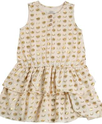 EGG Cream Layer Dress