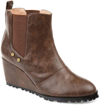Journee Collection Jessie Wedge Chelsea Boot - Women's
