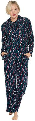 Carole Hochman Tall Waffle Fleece Novelty Pajama Set