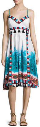 Plenty by Tracy Reese Placement Printed Midi Dress