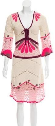 Temperley London Knit Knee-Length Dress