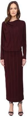 Vivienne Westwood Midi Long Sleeve Boudicca Dress Women's Dress