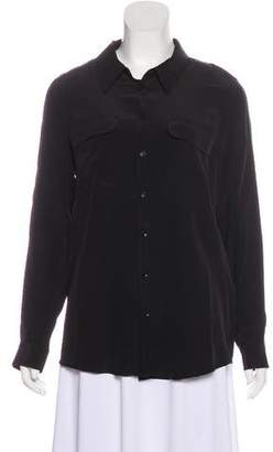 Anine Bing Long Sleeve Button-Up Blouse w/ Tags