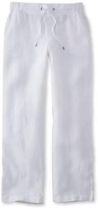 L.L. Bean L.L.Bean Premium Washable Linen Pants