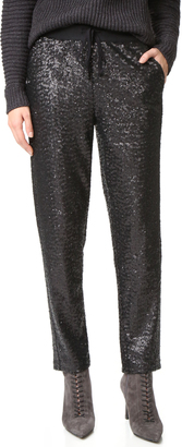 Splendid Sequin Pants $178 thestylecure.com