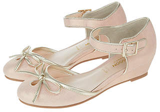 Monsoon Esme 2 Part Wedge Shoes
