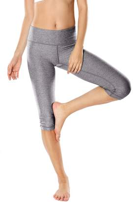 a2bbaef37c4 at Amazon Canada · CRZ YOGA Women s Running Tights Workout Capris Leggings  Yoga Pants with Pockets M