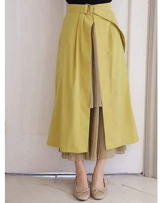 Nice Claup (ナイス クラップ) - ワンアフターアナザー ナイスクラップ 【近藤千尋さんコラボ】3wayプリーツスカート