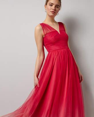 Phase Eight Aya Tulle Dip Dyed Dress